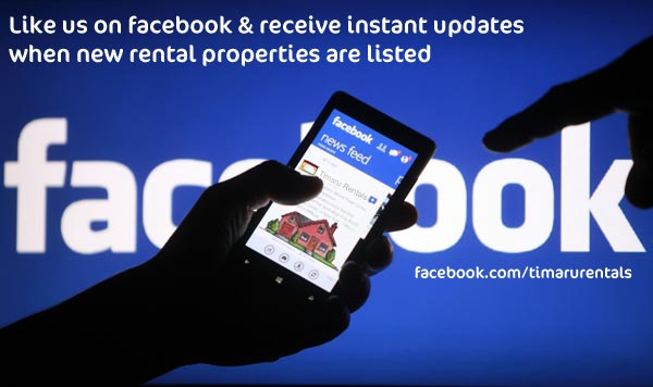 Like Timaru Rentals on Facebook